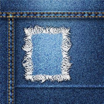 Fundo na moda jeans
