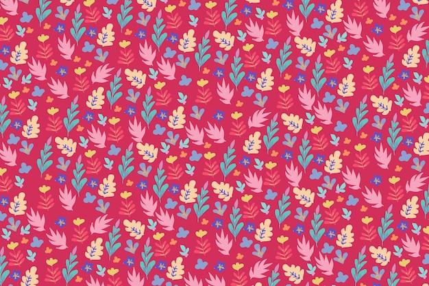 Fundo na moda padrão floral