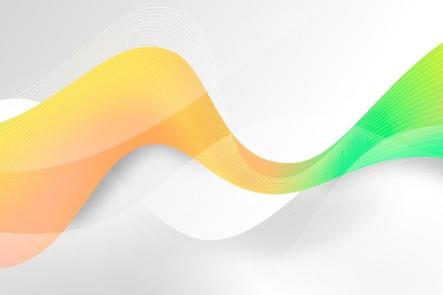Fundo ondulado colorido