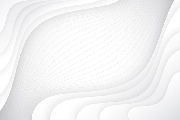 Fundo ondulado estilo papel