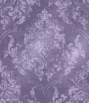 Fundo ornamentado barroco vintage
