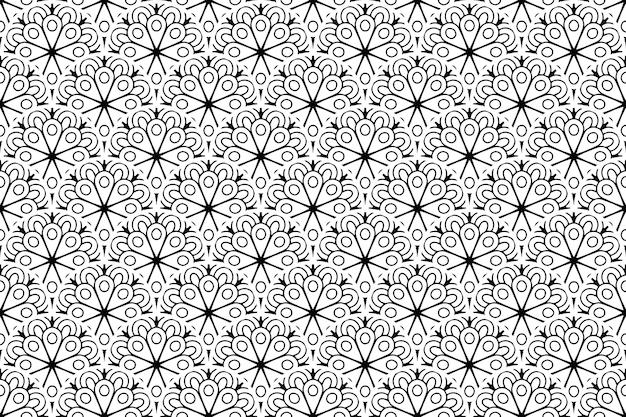 Fundo ornamentado simples com motivos elegantes