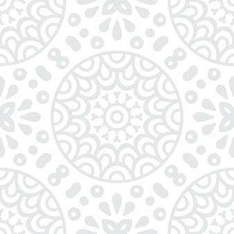 Fundo ornamental preto simples com mandala