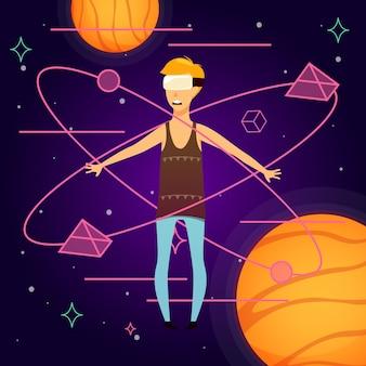 Fundo ortogonal do espaço virtual