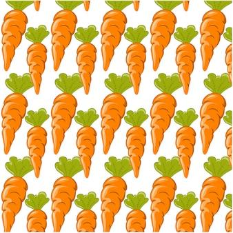 Fundo padrão de cenouras