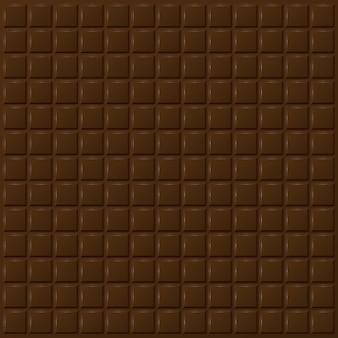 Fundo padrão de chocolate escuro