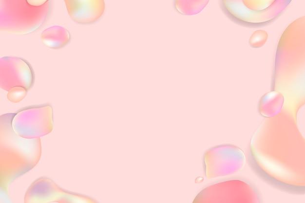 Fundo pastel fluido