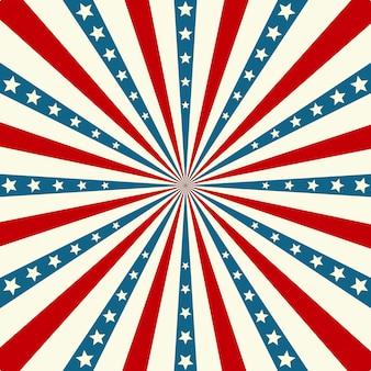 Fundo patriótico do dia da independência americana