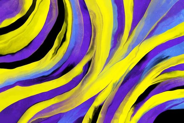 Fundo pintado acrílico colorido