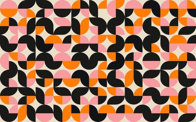Fundo plano de mosaico