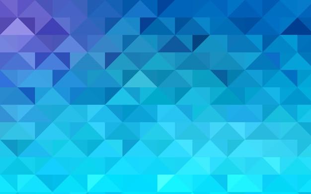 Fundo poligonal abstrato azul vector