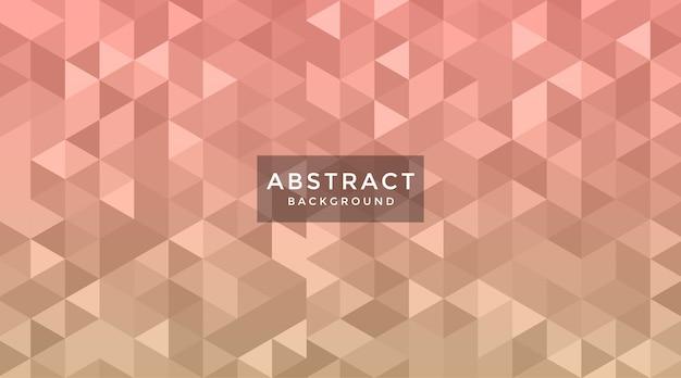 Fundo poligonal abstrato com cor gradiente