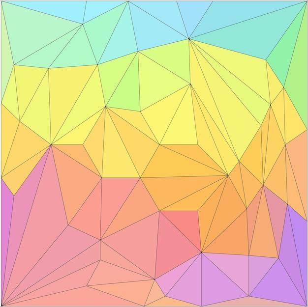 Fundo poligonal abstrato. padrão de poli baixo de triângulo de vetor para uso em cartão de design, convite, pôster, camiseta, lenço de seda, impressão em têxteis, tecidos, vestuário, etc.