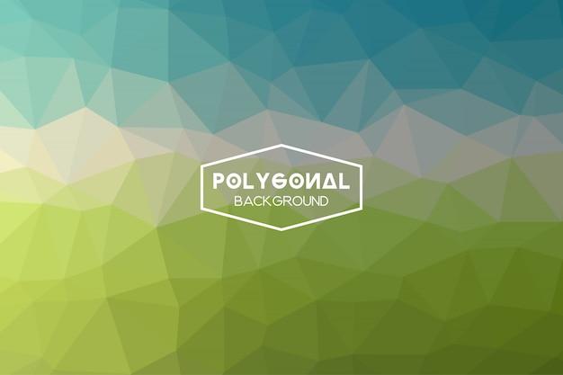Fundo poligonal abstrato