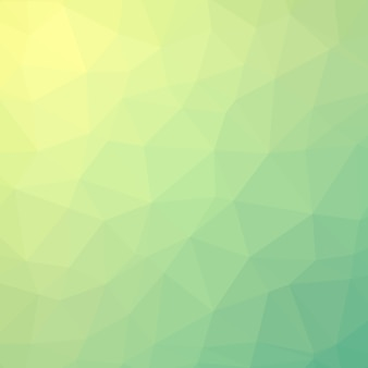 Fundo poligonal de cristal