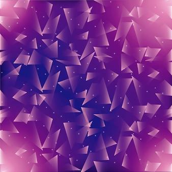 Fundo poligonal. design de papel de parede. gráfico de vetor