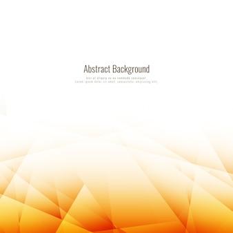 Fundo poligonal marrom brilhante abstrato