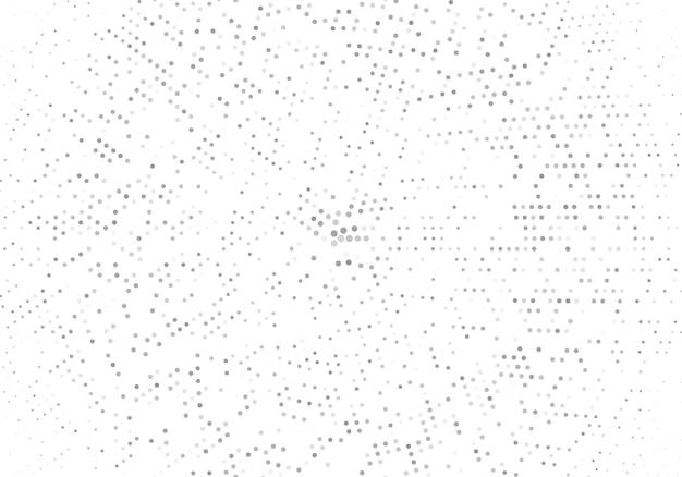 Fundo pontilhado de meio-tom abstrato. padrão monocromático com ponto e círculos. textura futurista moderna de vetor para cartazes, cartões de visita, cartões postais, design de interiores, adesivos.