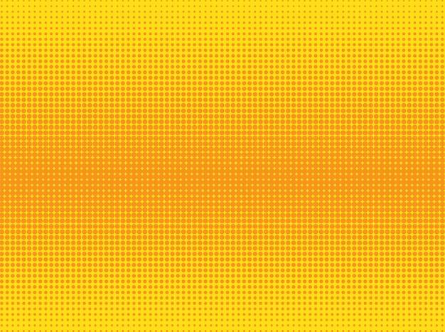Fundo pontilhado laranja e amarelo