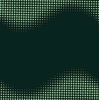 Fundo pontilhado verde abstrato