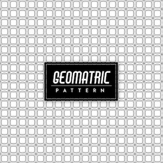 Fundo preto e branco geomatric seamless pattern