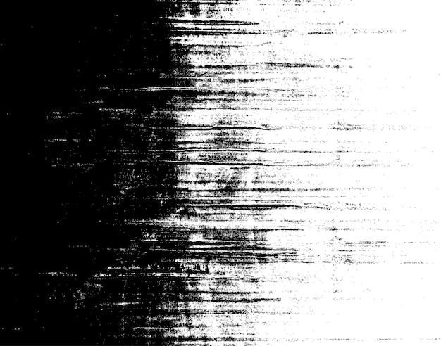 Fundo preto e branco sujo de grunge