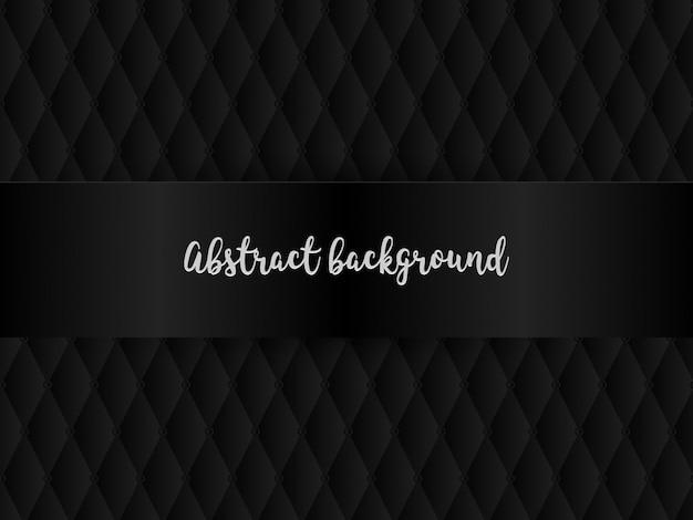 Fundo preto formas abstratas, retângulos