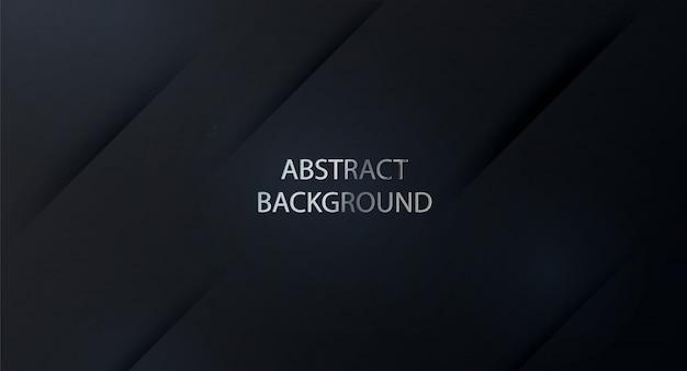 Fundo preto. fundo escuro para banner largo. abstrato preto