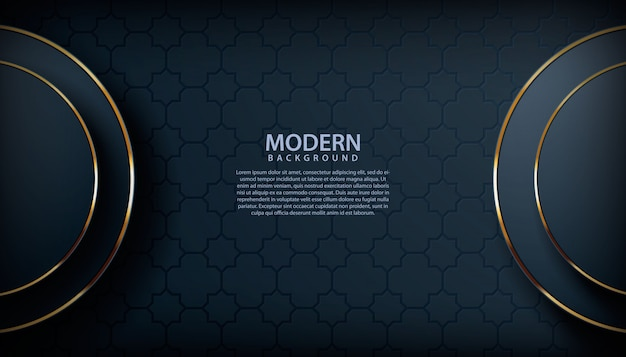 Fundo preto texturizado moderno