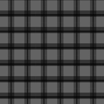 Fundo preto xadrez xadrez padrão sem emenda