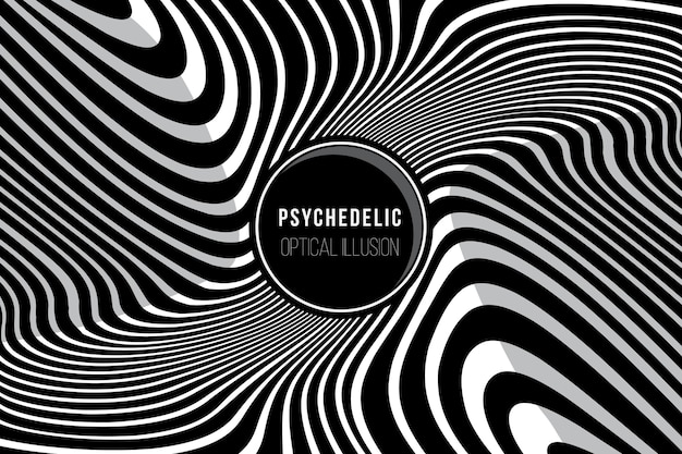 Fundo psicodélico