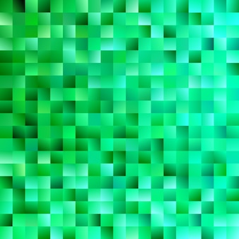 Fundo quadrado abstrato verde