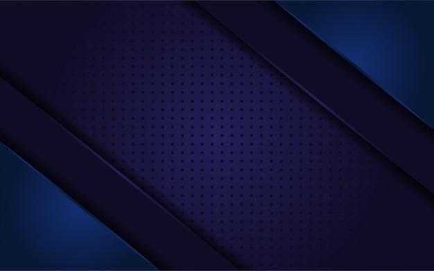 Fundo realista abstrato azul escuro