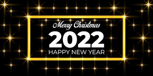 Fundo realista de ano novo 2022 e natal