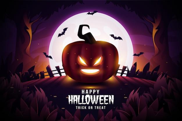 Fundo realista de halloween
