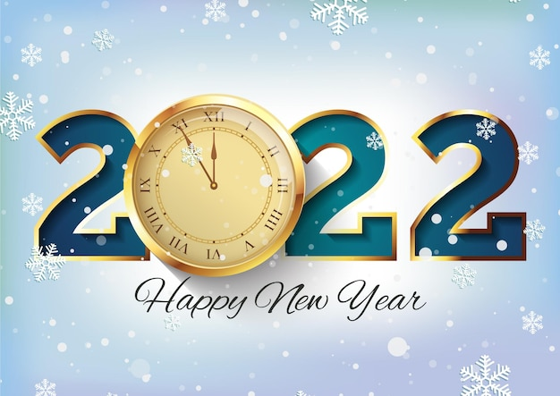Fundo realista do relógio do ano novo 2020