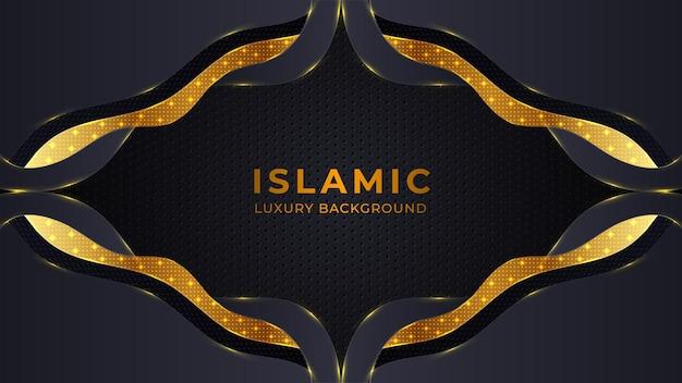 Fundo religioso islâmico abstrato
