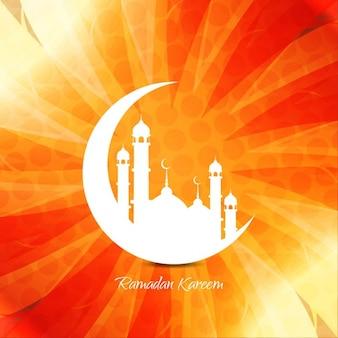 Fundo religioso islâmico bonito