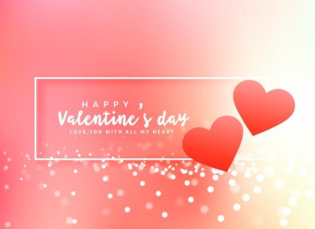 Fundo romântico do design do cartaz do dia dos namorados