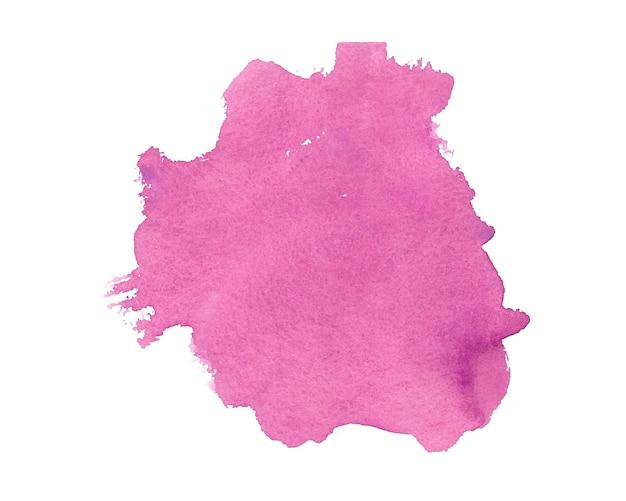 Fundo rosa abstrato com textura aquarela pintada à mão