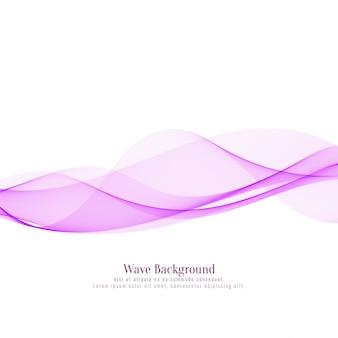Fundo rosa abstrato onda elegante