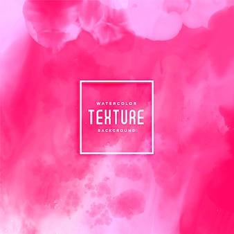 Fundo rosa aquarela textura abstrata
