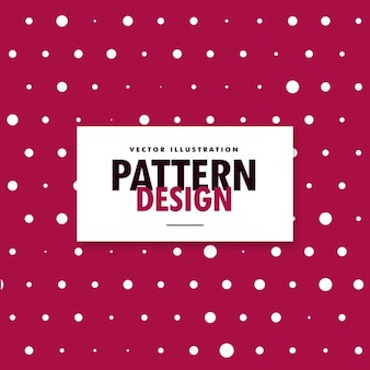 Fundo rosa com formas brancas diferentes círculos fundo polka