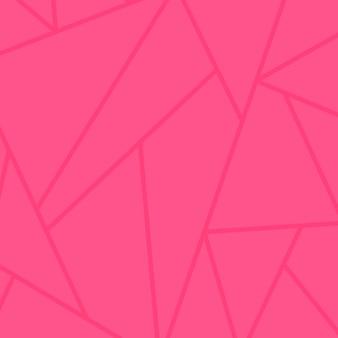 Fundo rosa com padrão triangular