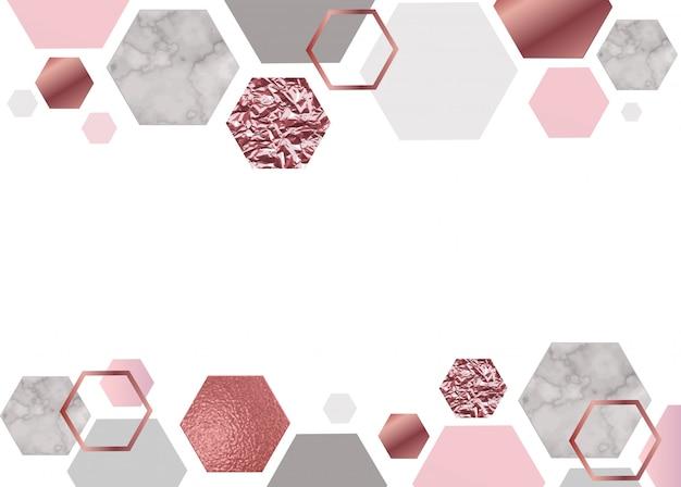 Fundo rosa de mármore