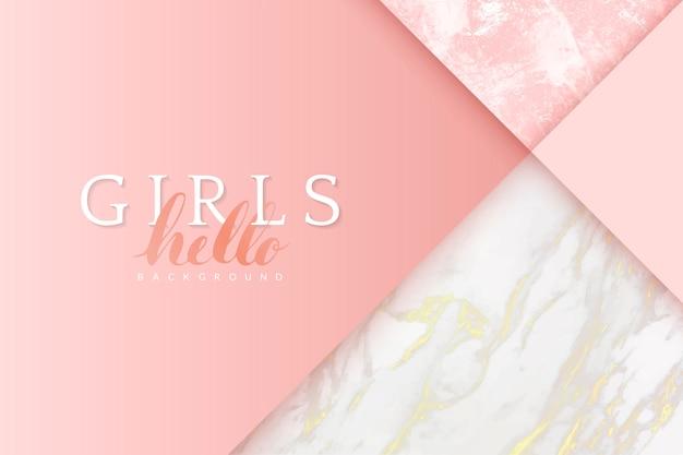 Fundo rosa feminino