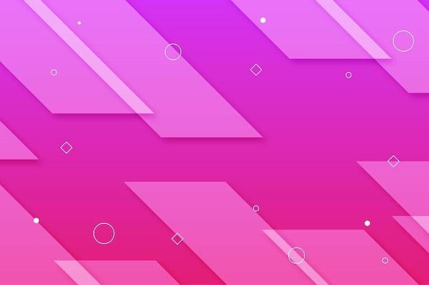 Fundo rosa gemoetric gradiente