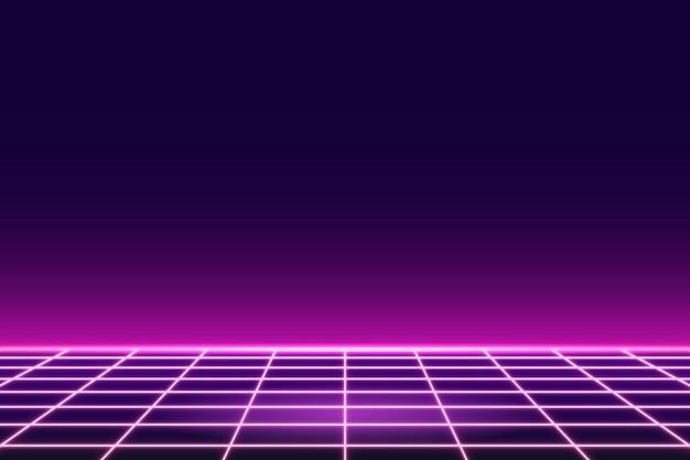 Fundo rosa neon com padrão de grade