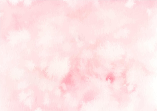 Fundo rosa pastel de textura abstrata com aquarela