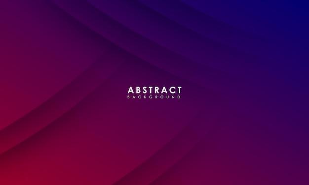Fundo roxo abstrato com conceito criativo de banner roxo moderno